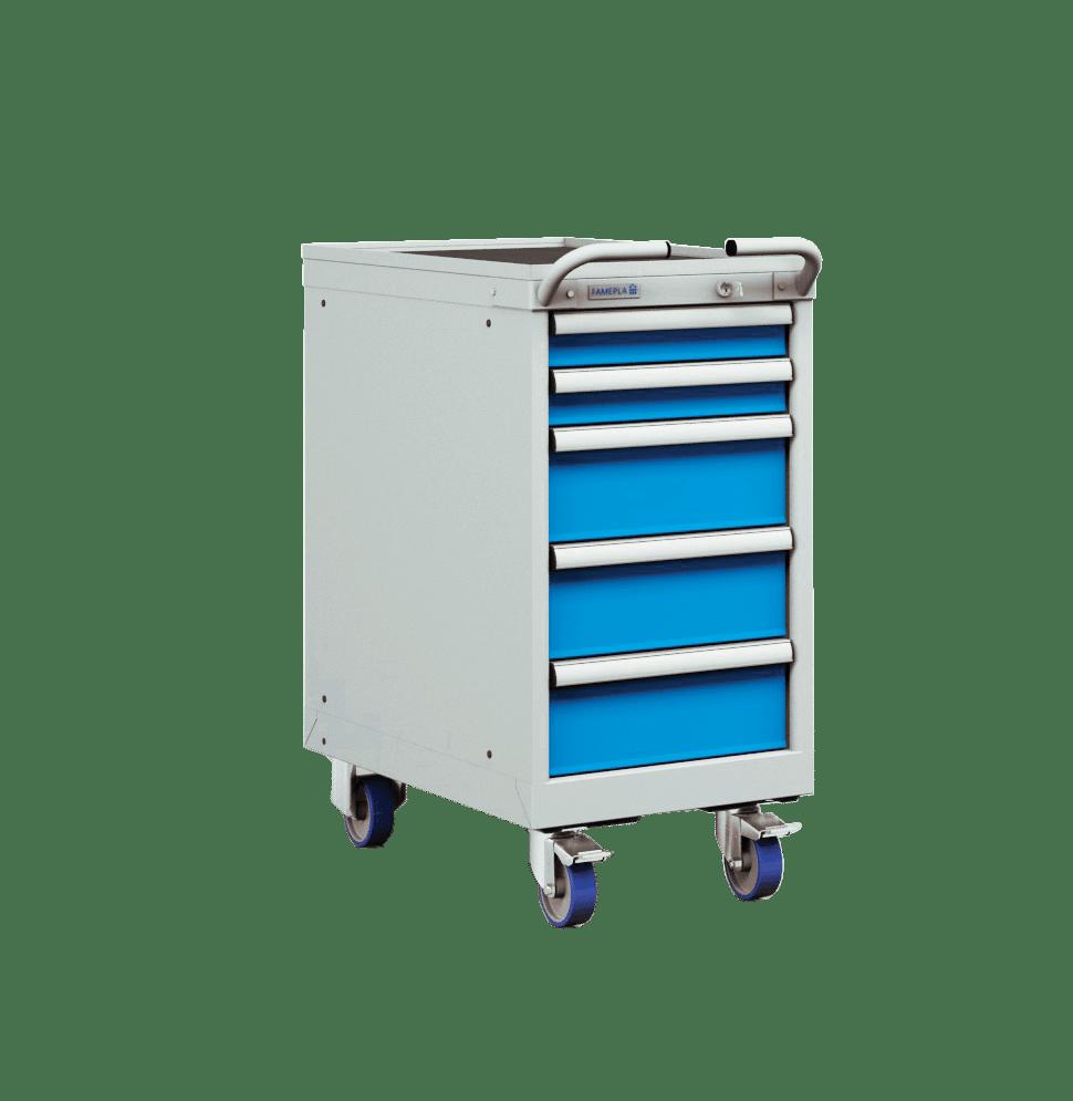 Schubladenschränke fahrbar H700xB411xT725mm ähnlich Lista