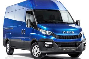 Iveco Daily H1 Kastenwagen Starter Set's Aluminium