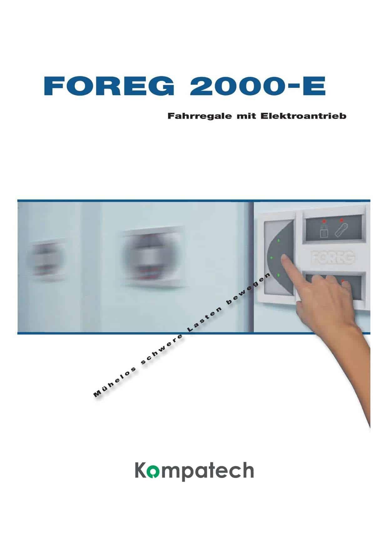 Archiv Rollregal Katalog Foreq 2000E