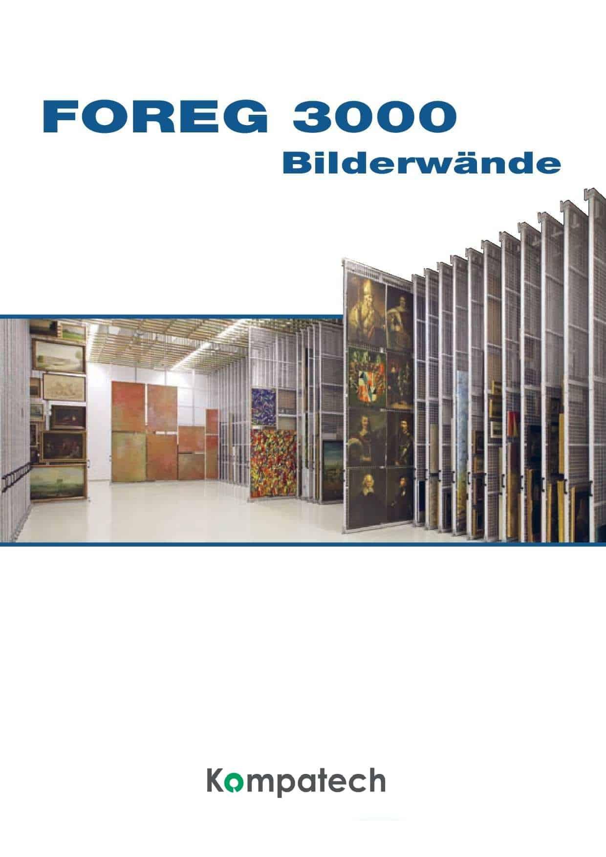 Archiv Rollregal Katalog Foreq 3000 Bilderwände