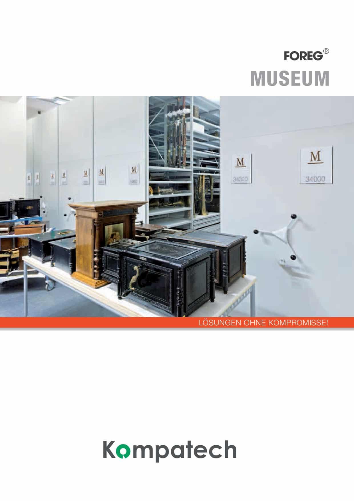 Archiv Rollregal Katalog Foreq Museum